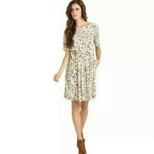 BCBG MAX AZRIA Karia Leopard Print Dress